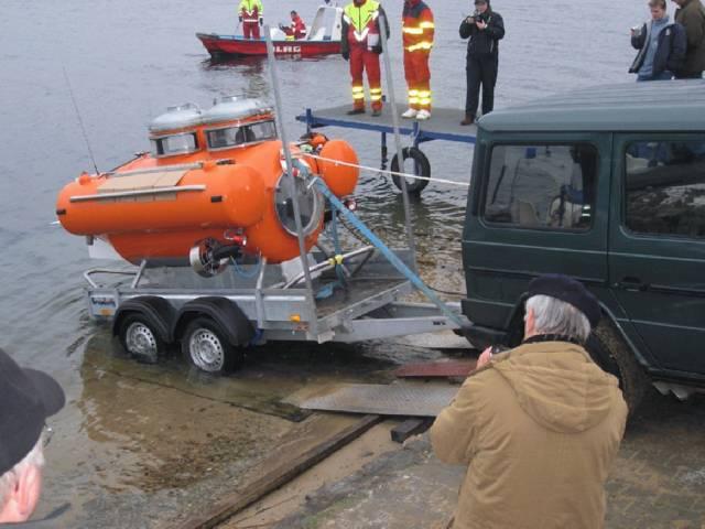 Транспортировка и спуск на воду. Nemo02